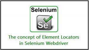 locators in selenium testing webdriver