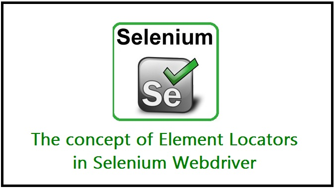 locators in selenium testing webdriver